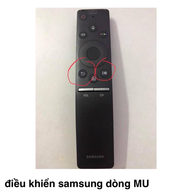 Remote cam kết chính hãng tivi Samsung