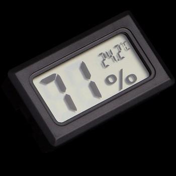 Nhiệt kế, Ẩm kế điện tử dùng để đo nhiệt độ và độ ẩm V8