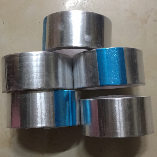 Combo 5 cuộn băng keo bạc