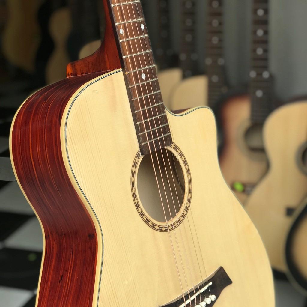 đàn guitar acoustic có ty tặng bao da
