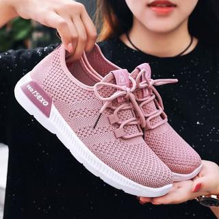 Giày Sneaker Nữ [ FREESHIP ] Giày Thể Thao Nữ Chạy Bộ Với Thiết Kế Êm Nhẹ – G02