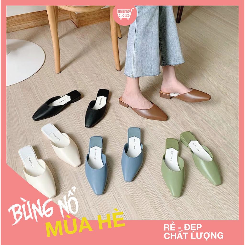 Dép Sục Nhựa Mules nữ Hàn Quốc [Có sẵn]