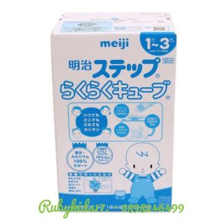 Sữa bột Meiji thanh 1 - 3 nội địa Nhật 24 thanh 28g date 2022 thumbnail