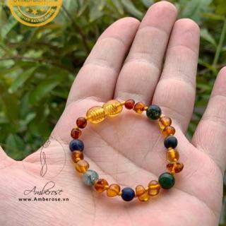 vòng tay Amber Úc size 14-16 cm