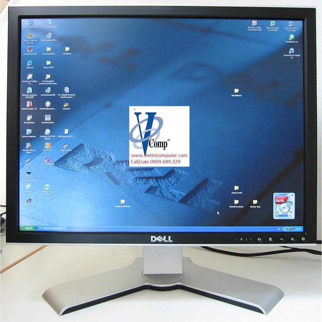 Màn hình Dell 2007FP vuông 20.1 Inch Ultrasharp 1600×1200,chuyên Đồ Họa /  Tặng cáp vga và nguồn.