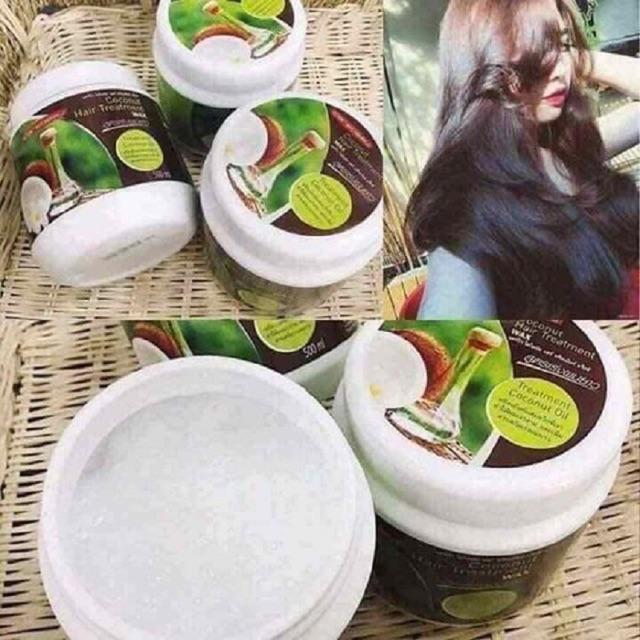 dầu ủ tóc dừa non với hiệu quả cực kì cao