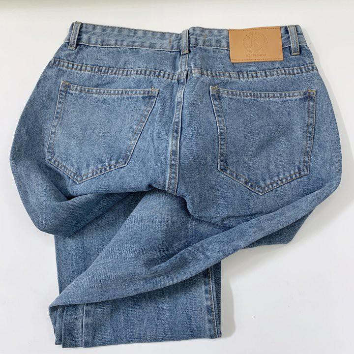 Quần baggy bigsize KimFashion, quần ống rộng cạp lưng cao bigsize 60-90kg BGD49
