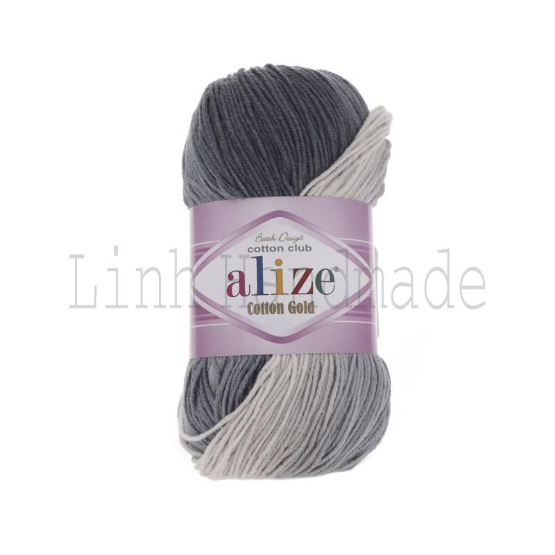 Cuộn Len Alize Cotton Gold Batik 2905