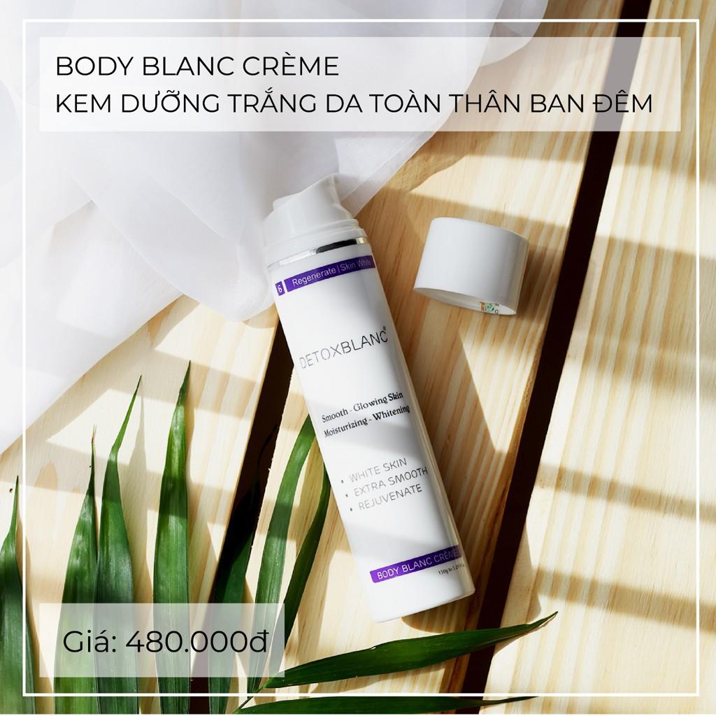 Kem dưỡng trắng da toàn thân ban đêm Body BlanC Crème