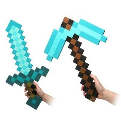 Combo Kiếm Cuốc Minecraft Diamond