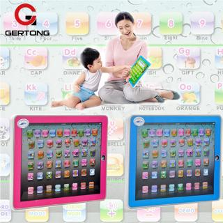 Learning Pad Touch Voice Enlightenment Educational Toys Gift Kid Multifunctional Tablet Computer Toy