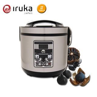 Máy làm tỏi đen – Nồi làm tỏi đen Iruka Japan 5 Lít, có chế độ sấy, 2 loại tỏi 1 nhánh và tỏi nhiều nhánh