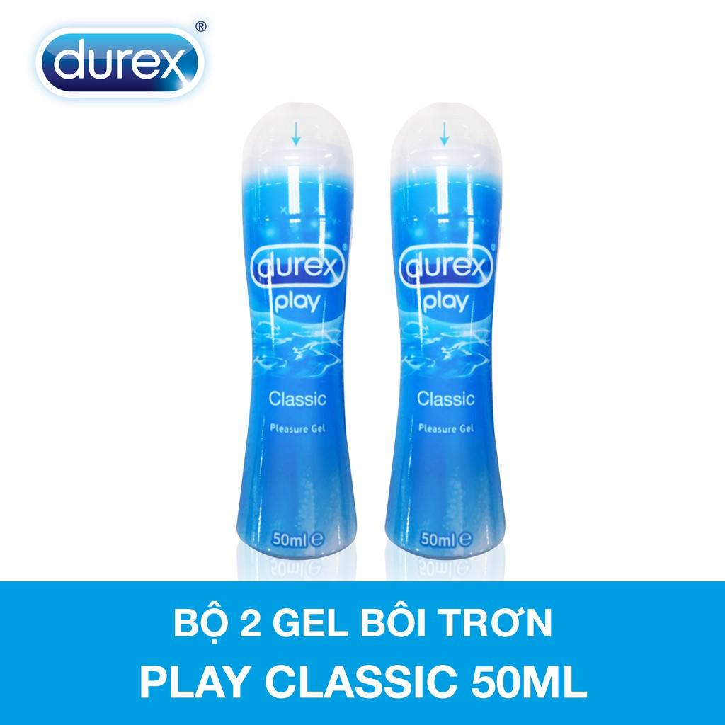 Bộ 2 gel bôi trơn Durex play classic 50ml/chai