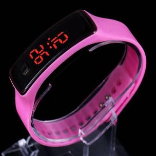 Đồng hồ trẻ em Silicon nhiều màu, đồng hồ điện tử thông minh cho bé E134