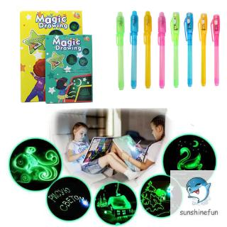 Draw with Light Developing Tablet Drawing Board Graffiti Writing for Children Kids