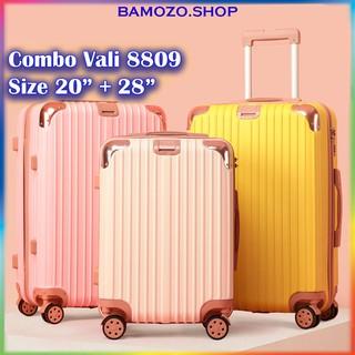 Vali Kéo Du Lịch Size 20 Inch Và 28 Inch Nhựa Cao Cấp Giá Rẻ Bền Đẹp Bảo Hành Chính Hãng 5 Năm Bamozo 8809 thumbnail