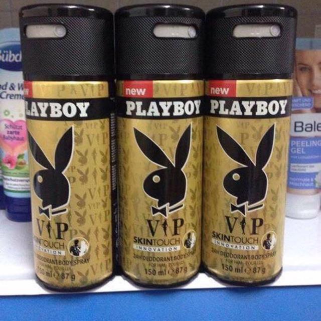 Xịt khử mùi Playboy dành cho nam