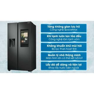 Tủ lạnh Family Hub Samsung inverter 616 lít RS64T5F01B4/SV