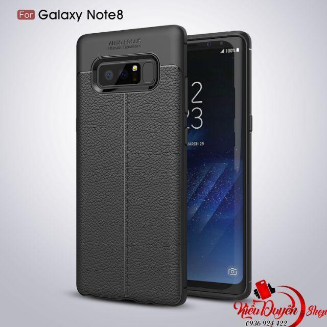 Ốp lưng Samsung Galaxy Note 8 vân da cao cấp hiệu Likgus