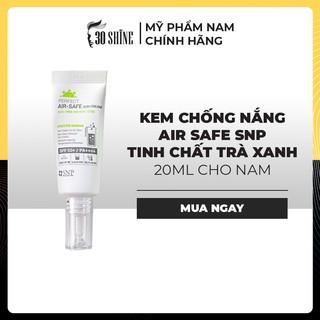 Kem Chống Nắng Cho Nam Air Safe SNP - Tinh Chất Trà Xanh 20ml thumbnail