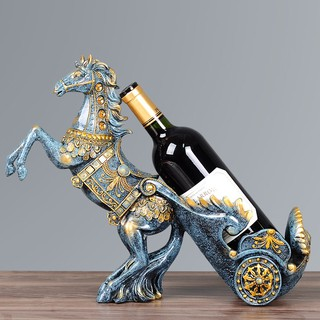 Kệ để rượu tuấn mã cao cấp(Xanh) – Phong cách hiện đại