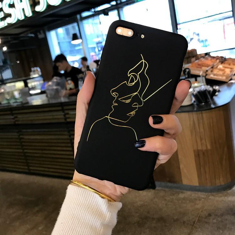 Ốp lưng điện thoại nhựa mềm iPhone 6 6s 7 8 X Plus 7Plus hình mặt cười