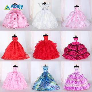 10PCS Simulate Doll Princess Gauzy Dress for 29CM doll Accessories Gift