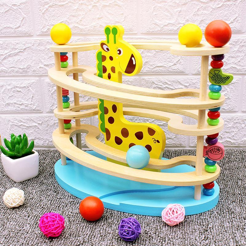 bộ đồ chơi tháp bóng cho trẻ em