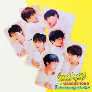 Card Trong Suốt BTS, Hình Ảnh Album Love Yourself Answer Ver E
