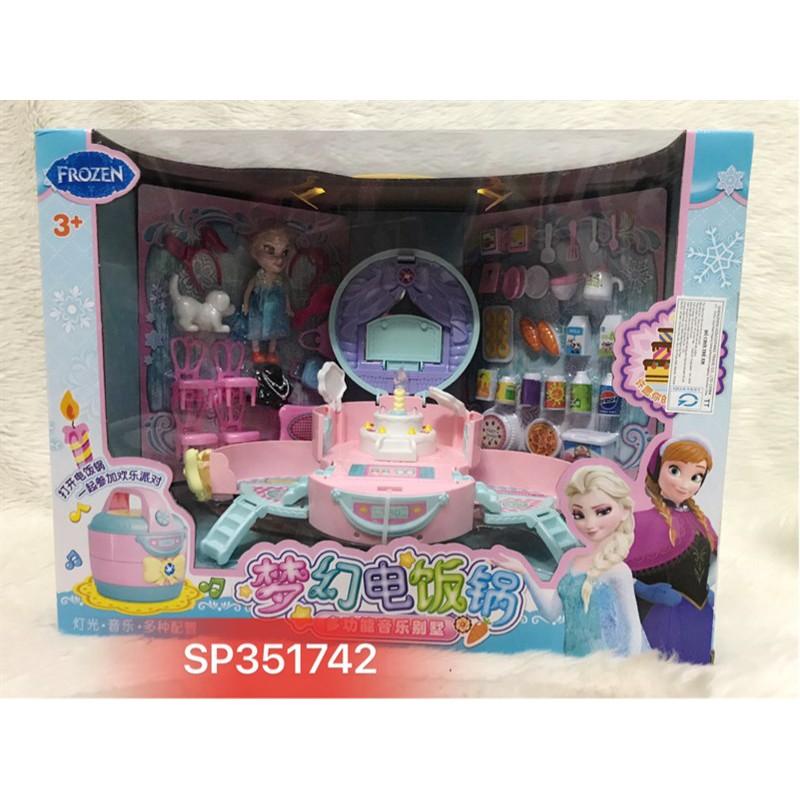 Đồ chơi nội thất bếp trong nồi cơm điện Elsa , 5802A