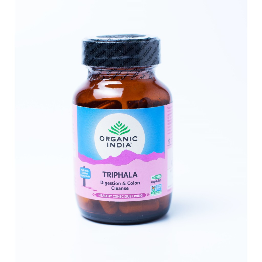Organic India Triphala - Thanh Lọc Ruột