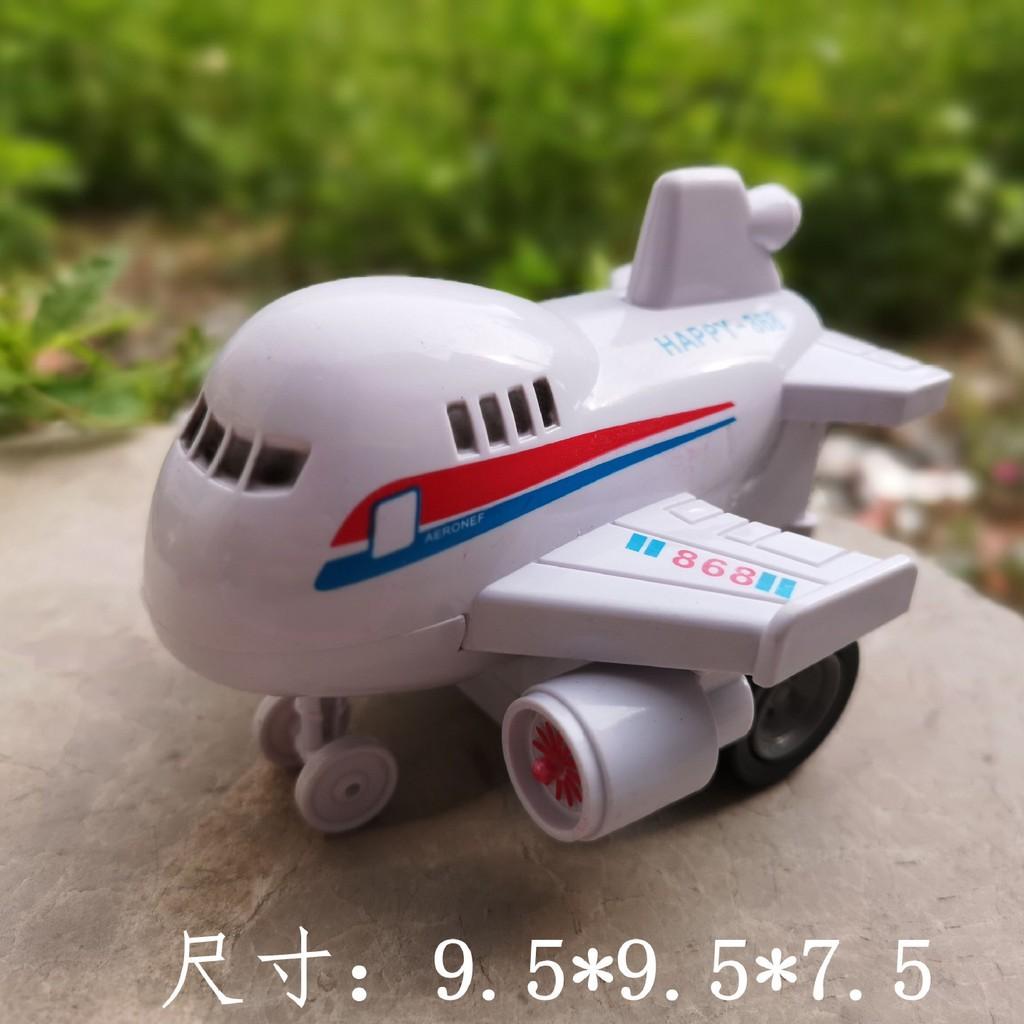 Set 4 máy bay đồ chơi chạy đà mô hình cho bé
