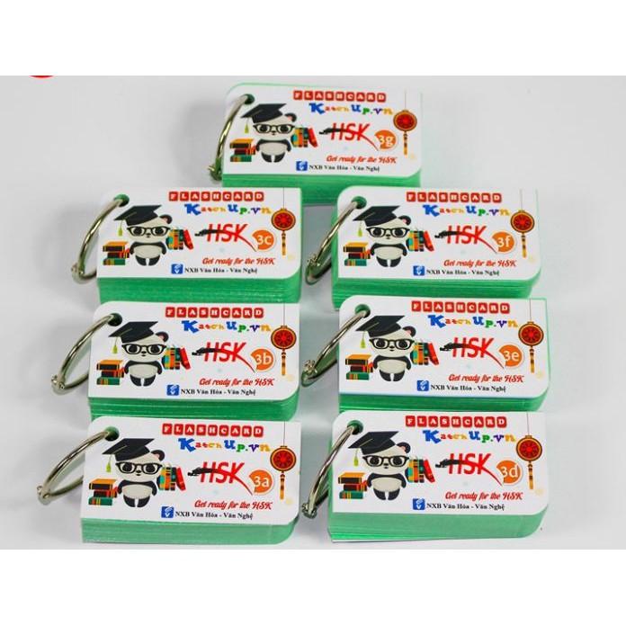 Bộ KatchUp Flashcard Tiếng Trung HSK 3 - High Quality
