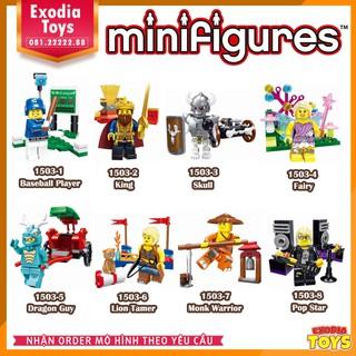 Bộ 8 minifigure nhân vật Enlighten – 1503A (8 in 1 Set)