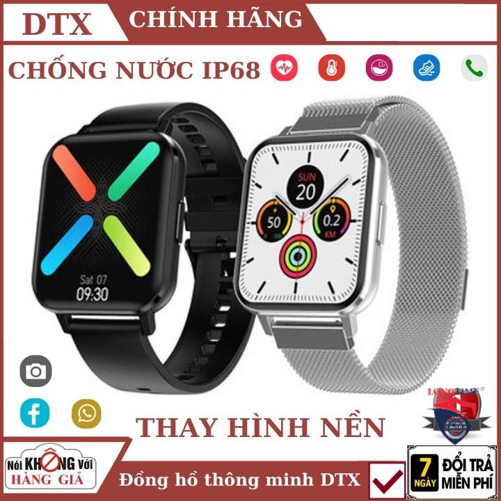 Đồng Hồ Thông Minh DTX chống nước 1.78 inch full tiếng việt. - Dtx 1.78 ,đồng hồ bluetooth