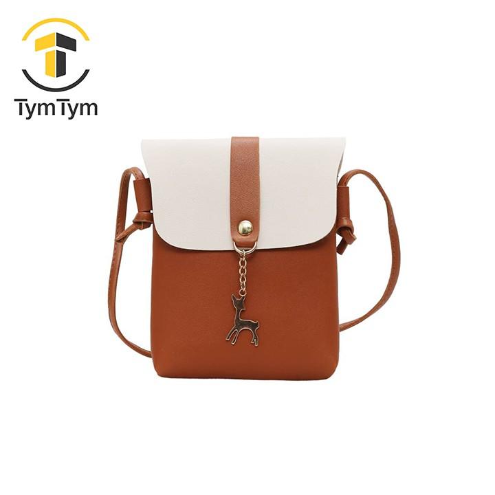 Túi đựng điện thoại TYMTYM mẫu mới khóa hình hươu TT-1997-TXN64