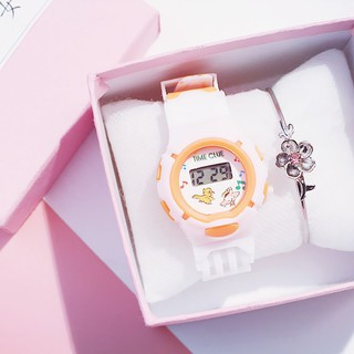 Đồng hồ cho bé thông minh đẹp dây cao su DH81 thumbnail