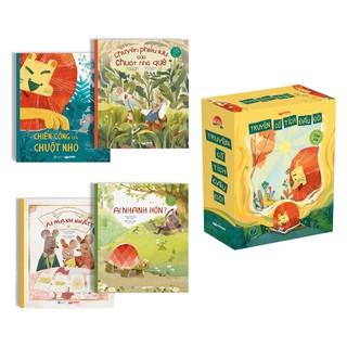 Sách - Bộ 4 cuốn Truyện đọc trước giờ đi ngủ - Truyện cổ tích đầu đời cho bé - Dành cho trẻ từ độ tuổi 1+