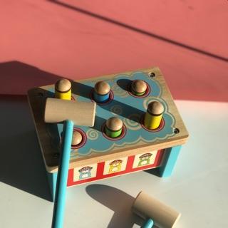 Bộ đồ chơi gõ đầu gỗ