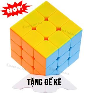 Rubik 3×3 đẹp, xoay trơn, không rít, độ bền cao. Đồ chơi Rubik 3×3 cao cấp.