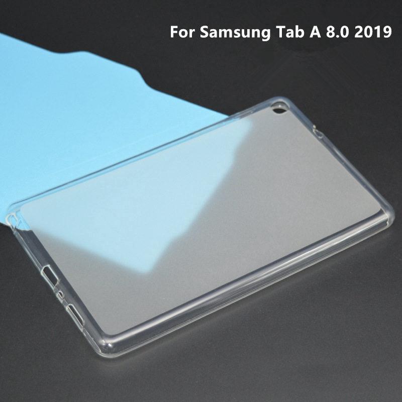 Ốp nhựa dẻo trong suốt cao cấp cho Samsung Tab A 8.0 2019 SM-P200/SM-P205