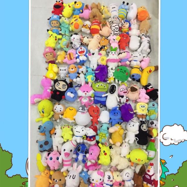 Lô gấu nhỏ móc khoá 100 con