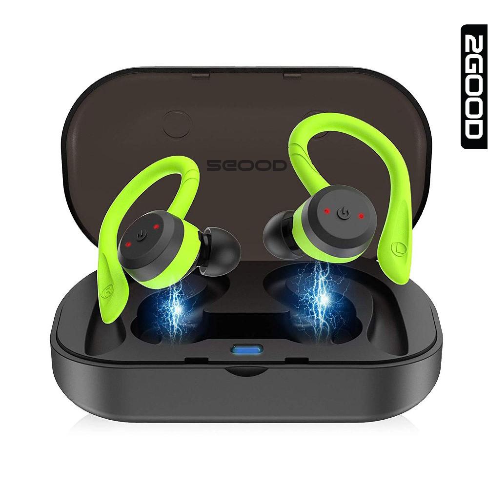 Tai nghe Bluetooth 2GOOD Runner IPX7, Hàng chính hãng, Bảo hành 1 năm, Bluetooth 5.0
