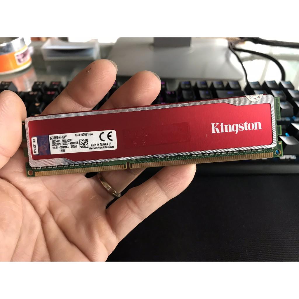 Ram Kingston HyperX 4GB 1600Mhz CL9 Red - 2441459 , 1251424690 , 322_1251424690 , 550000 , Ram-Kingston-HyperX-4GB-1600Mhz-CL9-Red-322_1251424690 , shopee.vn , Ram Kingston HyperX 4GB 1600Mhz CL9 Red