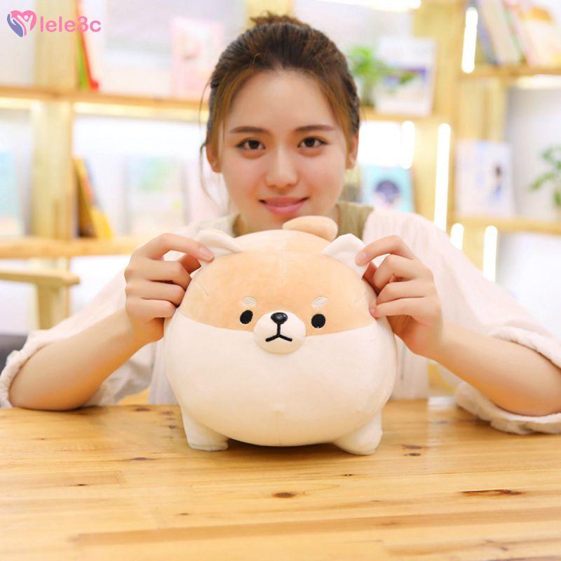 LE Stuffed animal Shiba Inu plush toy anime Corgi cute plush dog soft pillow, plush toy gift boy girl lele