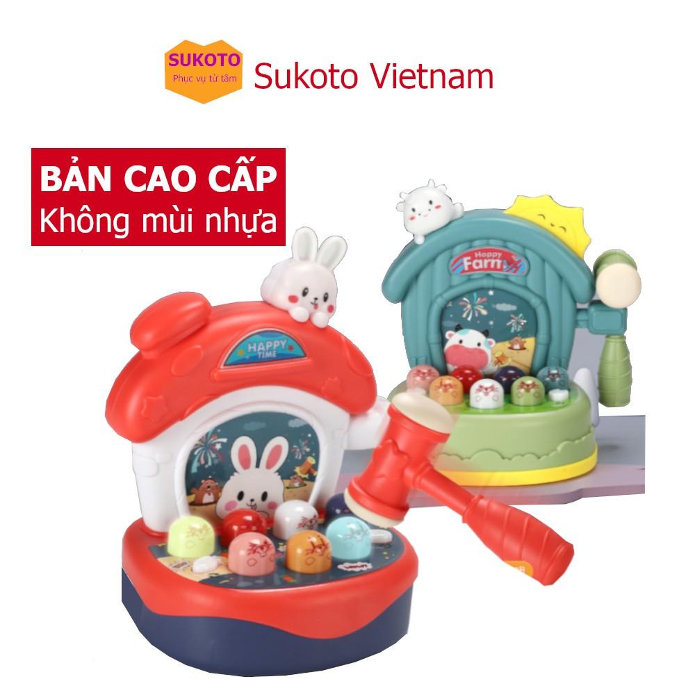 Đồ Chơi Đập Chuột Vui Vẻ Happy Hamster Cho Bé Từ 2 – 6 Tuổi