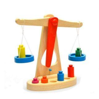 Cân thăng bằng gỗ