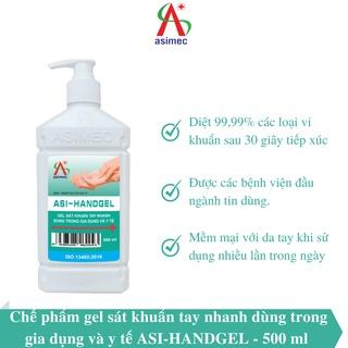 Gel rửa tay khô ASI HANDGEL 500ml thumbnail