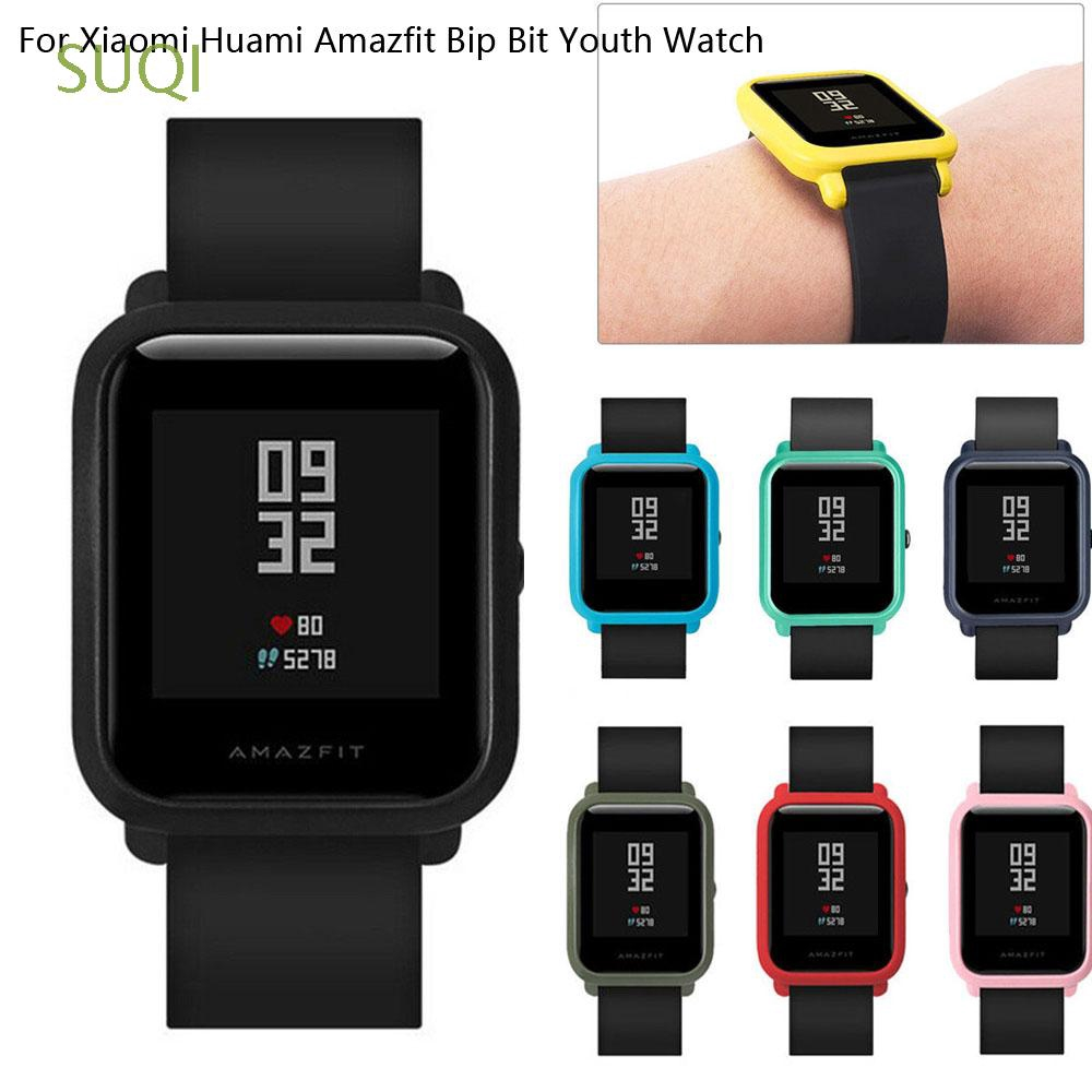 SUQI Slim Ultra thin Soft Full Cover Sports for Huami Amazfit Bip Youth Lite
