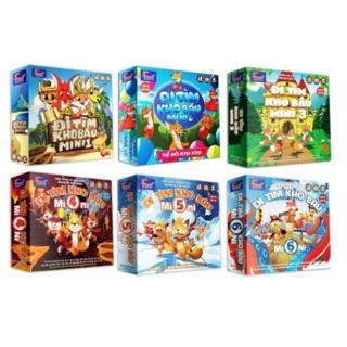 Boardgames trò chơi Đi Tìm Kho Báu Mini